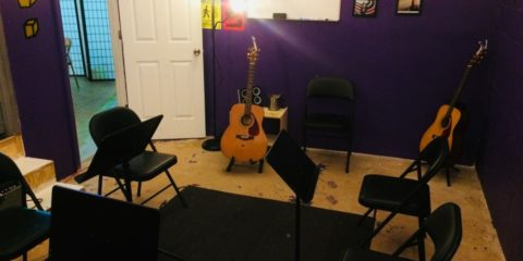 acoustic practice rooms at nyc guitar school